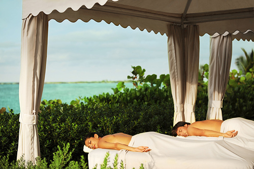Couples Oceanview Cabana Massage